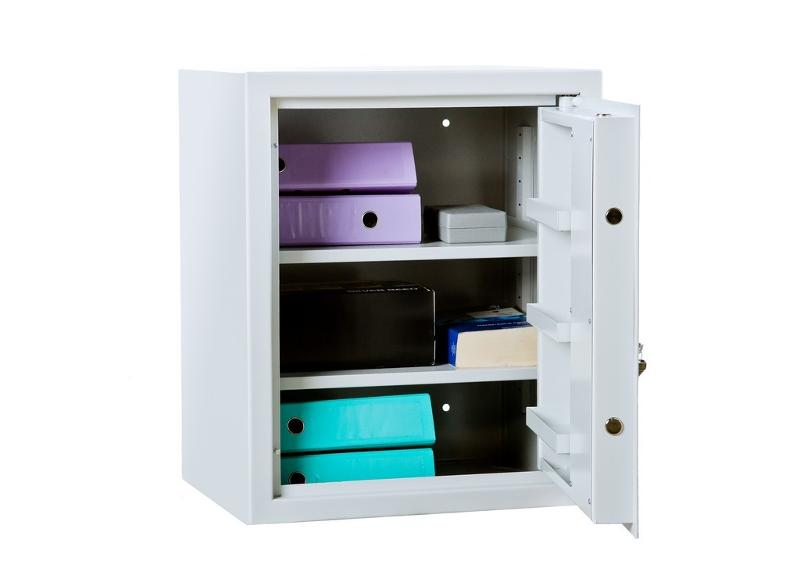 Security cabinet with two shelves - null