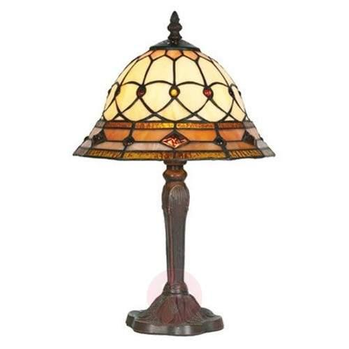 Table lamp ANTHEA in Tiffany style - Table Lamps