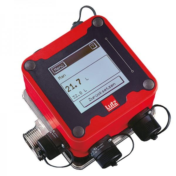 Flow Meter TS type VA10 With volume preset - Nutating Disc Meter