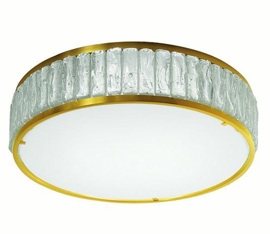 Art deco round ceiling light - Model 2058 A