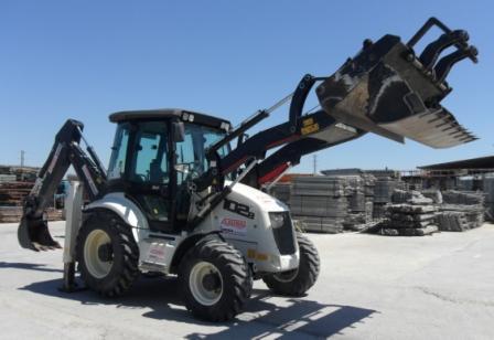 Alquiler de maquinaria para la construcción - Alquiler de retro excavadora