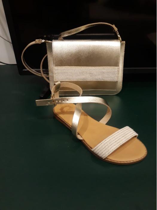 sandales / Sac - Sandales cuir