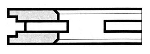 R4 A feritoia - Produzione di fasce elastiche raschiaolio a Milano