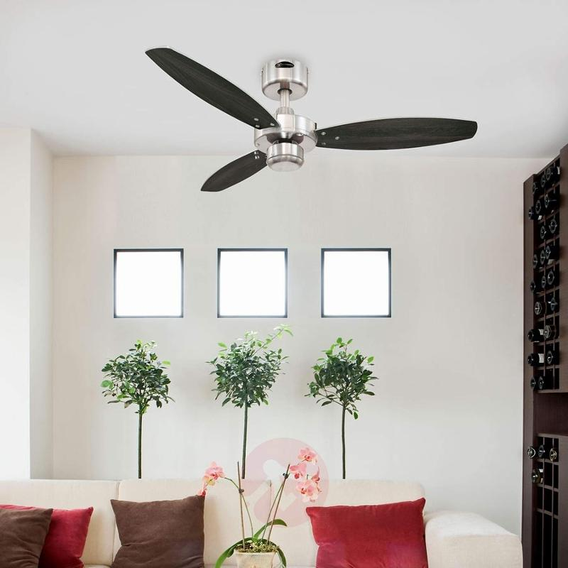 Jet I modern ceiling fan with pull switch - fans