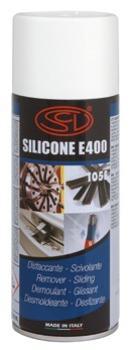 SILICONE E 400 - Distaccante per materie plastiche
