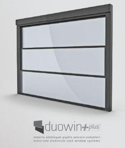 Motorized aluminium window system