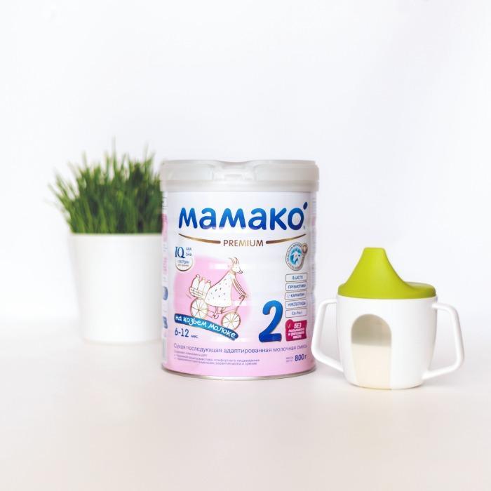 Goat milk-based infant formula - 2 Premium, 6 – 12 months