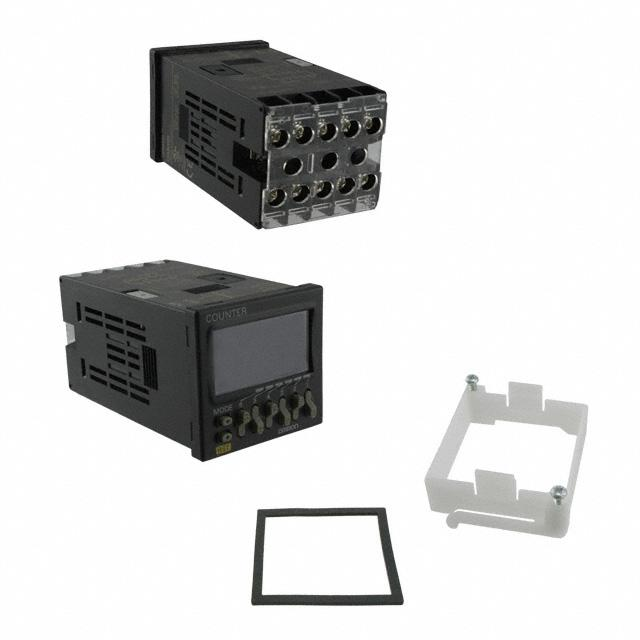 COUNTER LCD 6 CHAR 12-24V PNL MT - Omron Automation and Safety H7CX-AD-N DC12-24