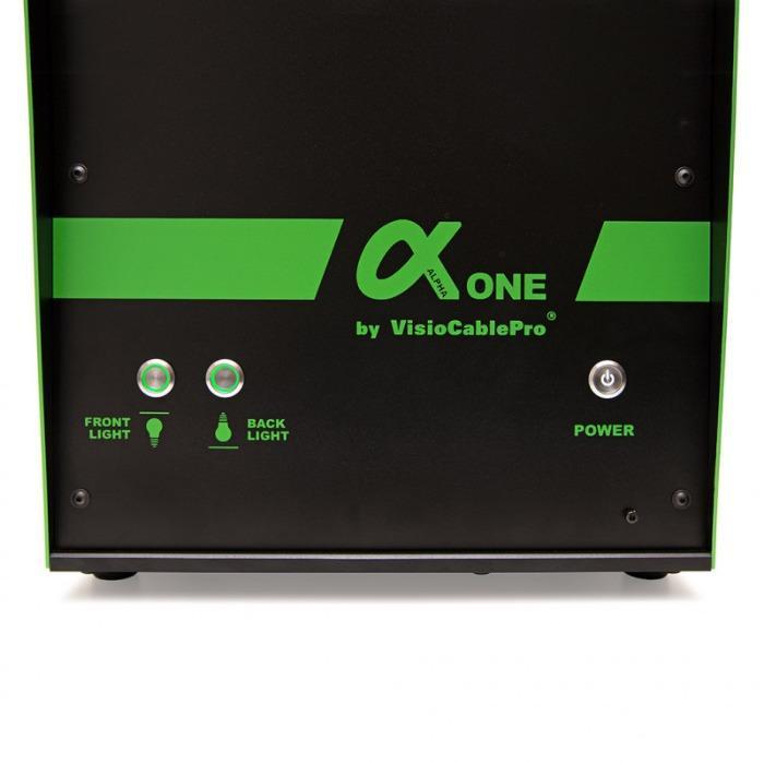 Automatisches Messgerät AlphaOne - Messgerät von Kabel- oder Schlauchproben bis max. 95 mm Außendurchmesser