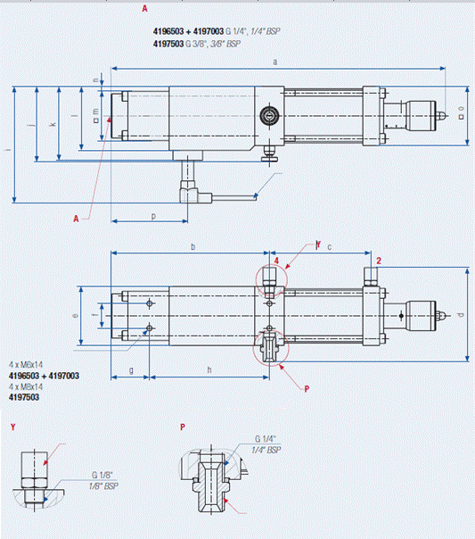 Doseerventiel standaard met sensor H