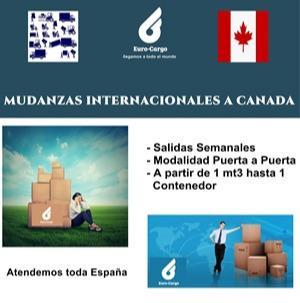 Mudanzas a Canadá - Desde España