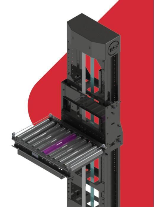 Вертикальный конвейер для паллет - Для удобства выполнения погрузочно-разгрузочных работ