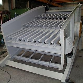 Screening - VSSC roughing vibrating screens