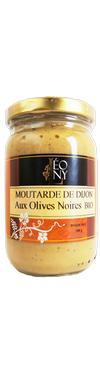 Moutarde de Dijon aux Olives Noires  - LEONY