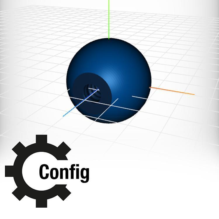 Pomelli a sfera configurati