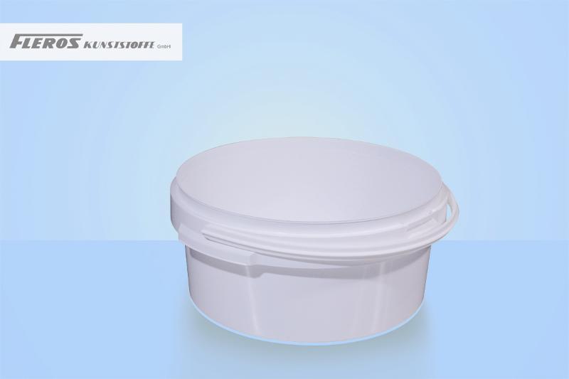Round buckets - FK-R 3.000 bucket, round, PP