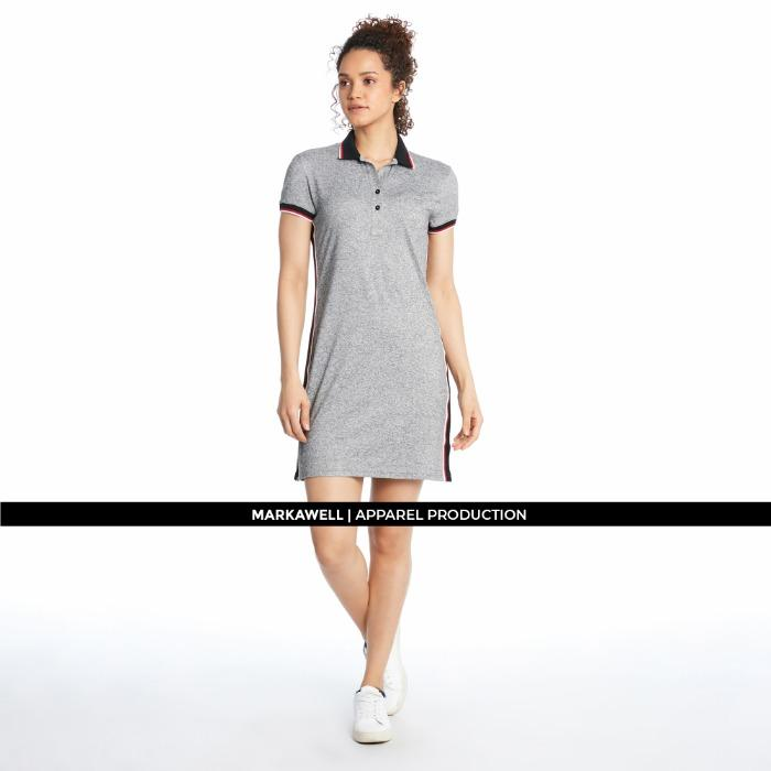 WOMAN POLO DRESS - 2017760181571_2