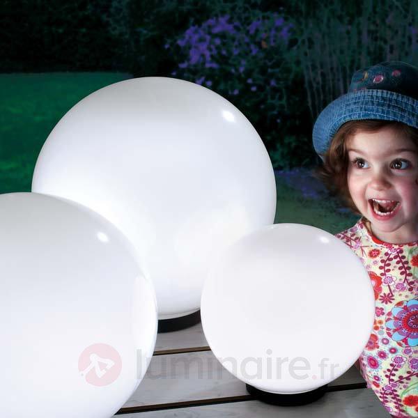 Boule lumineuse solaire décorative Mega Ball - Lampes solaires décoratives