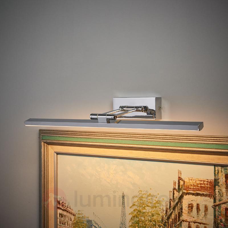 Applique pour tableau LED chromée Elif - Appliques à tableaux