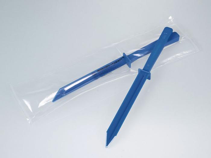 Spatule pour aliments, bleue - Peut être utilisé dans le cadre de la gestion des corps étrangers HACCP/IFS/BRC