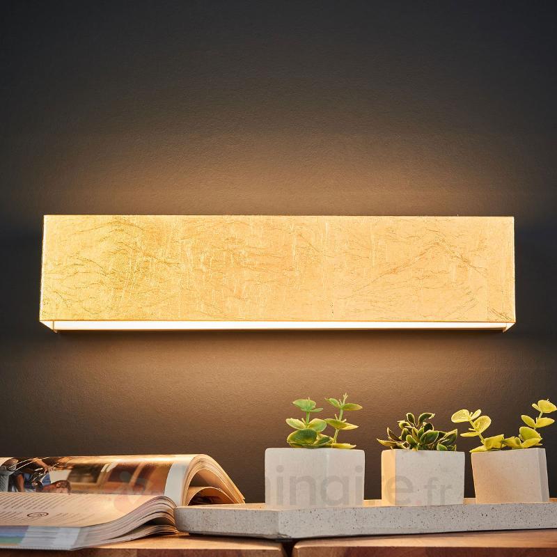 Applique LED dorée Kimberly - Appliques LED