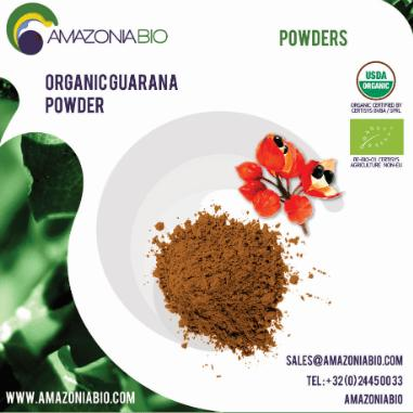 Organic Guarana Powder - Try before purchase? Please contact us for free samples