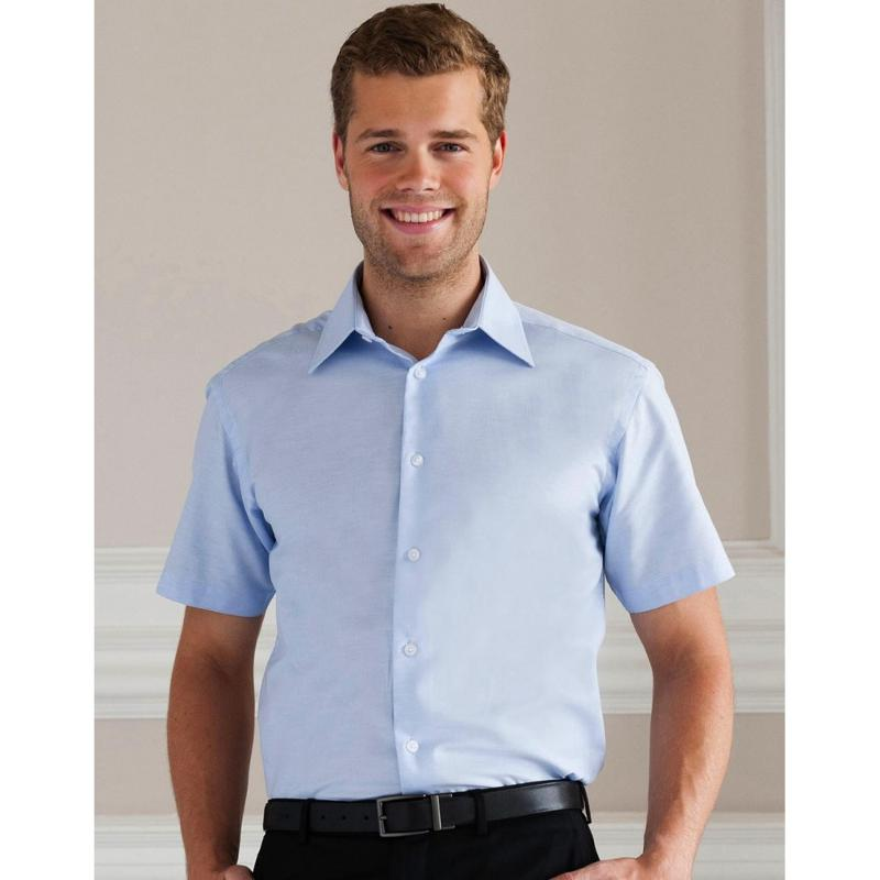 Chemise manches courtes S/SL Oxford - Homme