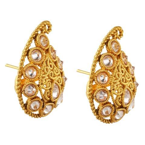 JAE-1949 - Zephyrr Traditional Fashion Party Wear Lightweight Stud Earrings