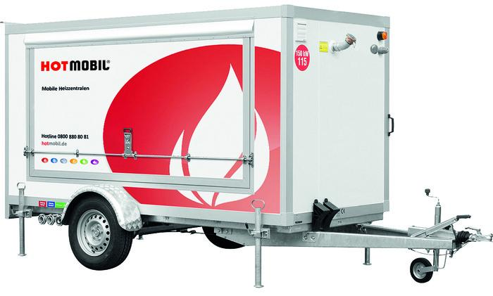 Heating unit HOTMOBIL MHZ 150 -