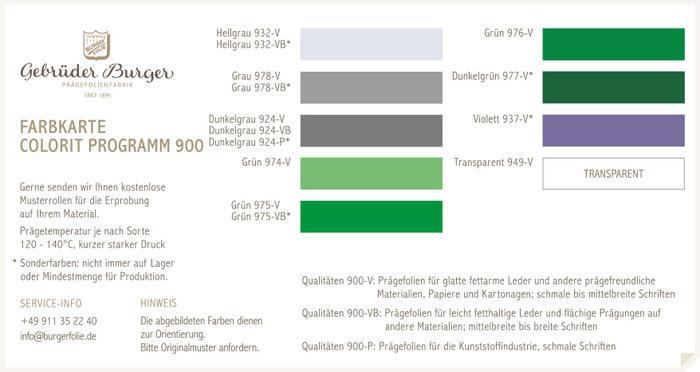 Colorit Programm 900/3 -