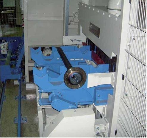 Granalladora de viga andante - Granalladoras de viga andante para elaborar piezas de trabajo sensibles