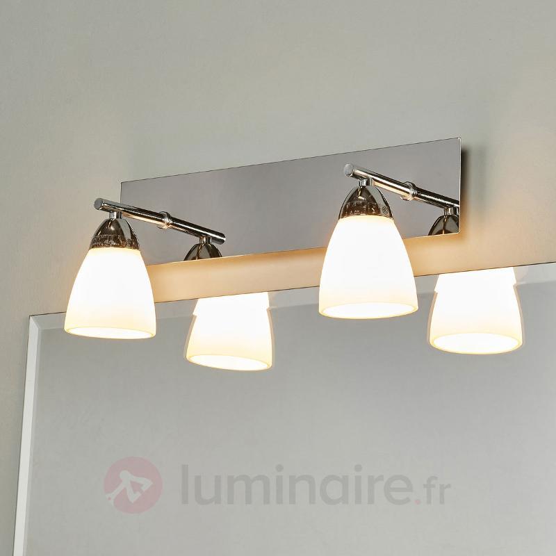 Applique à deux ampoules G9 Shana - Appliques chromées/nickel/inox
