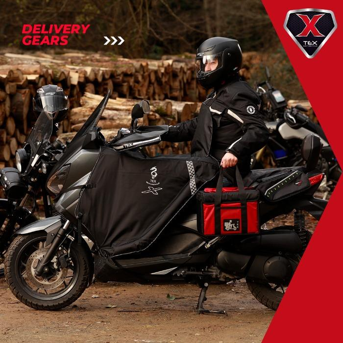 Food Delivery Gears & Garments - Motorcycle & Bicycle Accessories-Clothing-Bags