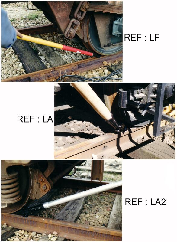 Leviers pousse-wagon - null