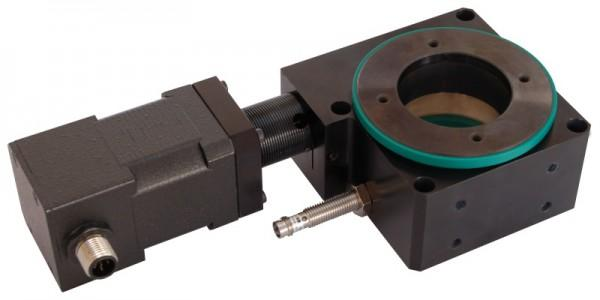 Rotary tables with worm gear series RT1 - Rotary tables and rotation axis