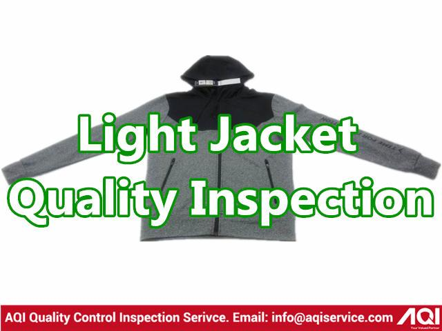 Light Jacket Quality Inspection - Sport and leisure