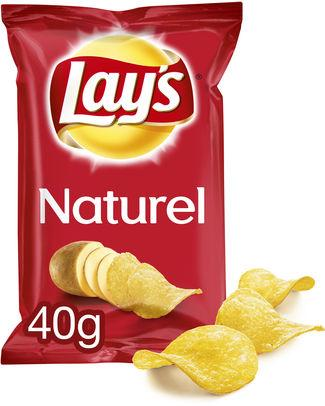 Lays Chips Naturel 40gr - Vending / snacks salés