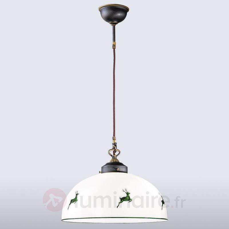 Suspension envoûtante Nonna 36 cm - Suspensions rustiques