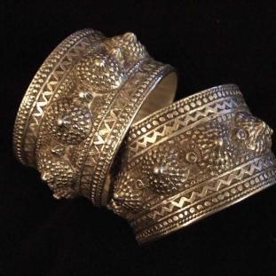 Bracelets - Argent, paire, Algérie