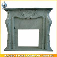 Natural Stone Granite Antique Euorepean Fireplaces