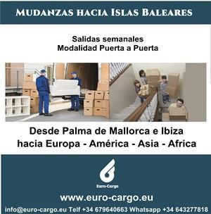 Mudanzas desde Islas Baleares - A todo el mundo