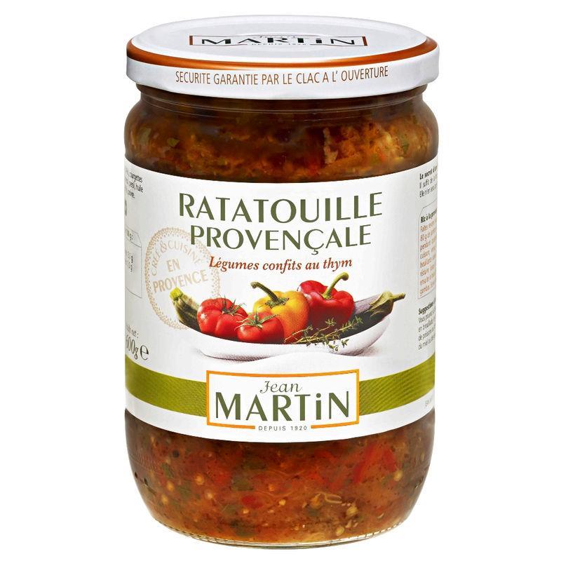 Plat cuisiné ratatouille provençale 600g - JEAN MARTIN - Plat cuisiné ratatouille provençale 600g - JEAN MARTIN