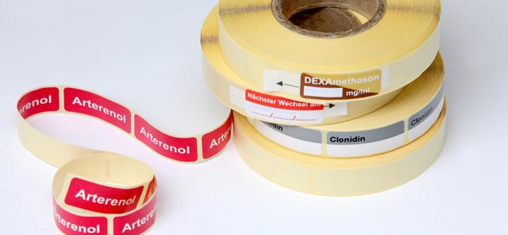 Syringe labels (DIVI standard) - null
