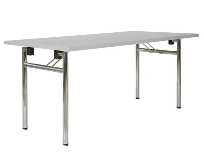 Folding table (rolling) Eco Plus, King Plus or Empress Plus - Folding table with h-frames with integrated rolls