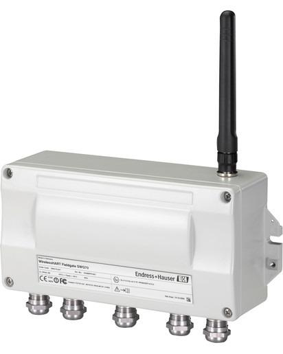 WirelessHART Fieldgate SWG70 - Intelligent WirelessHART gateway with Ethernet and RS-485 interfaces