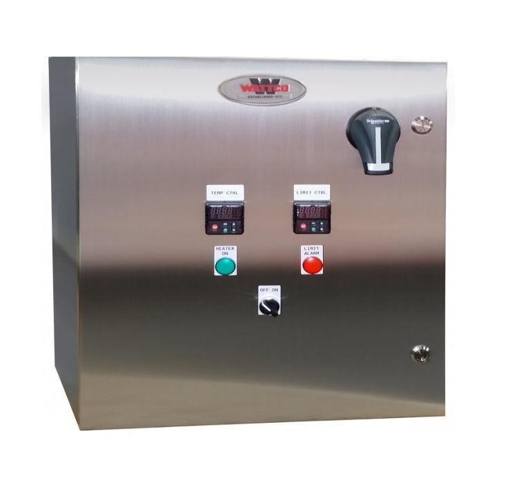 Temperature Control Panels - Industrial heaters - control panels to regulate temperature