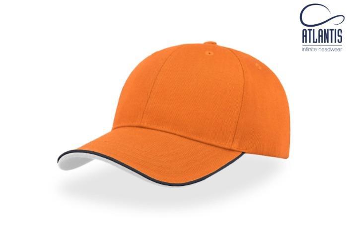Cappelli estivi colorati con visiera in contrasto - Cappelli estivi colorati con visiera in contrasto e regolazione in velcro