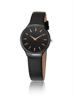 trendy quartz ceramic watch