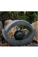 Fontaines modernes - fontaine : OEIL DE TIGRE : Eclairage par LED bleue