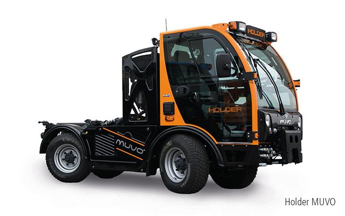 Multifunctional municipal transport vehicle - MUVO
